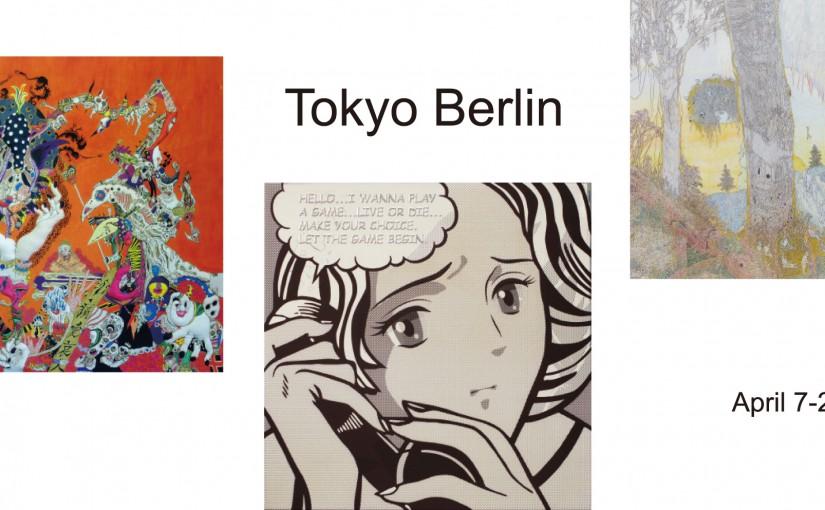 Tokyo Berlin 7-29 Aplil 2017
